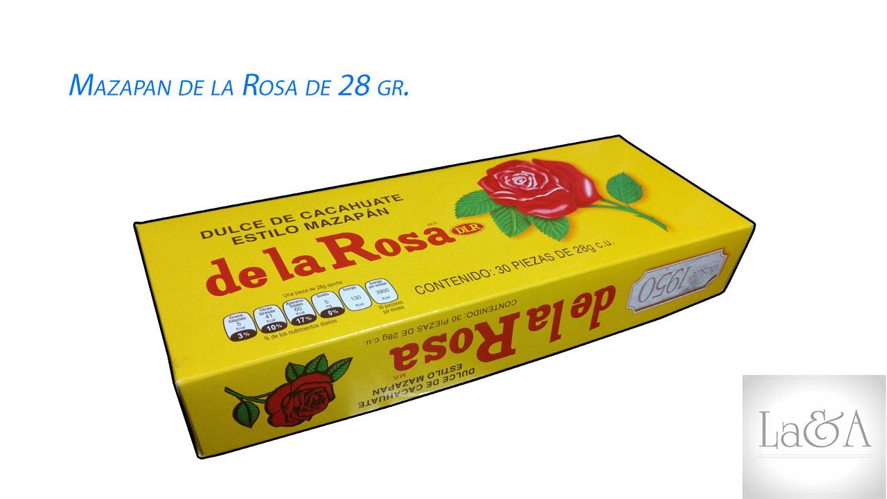 Mazapan De la Rosa 28gr.