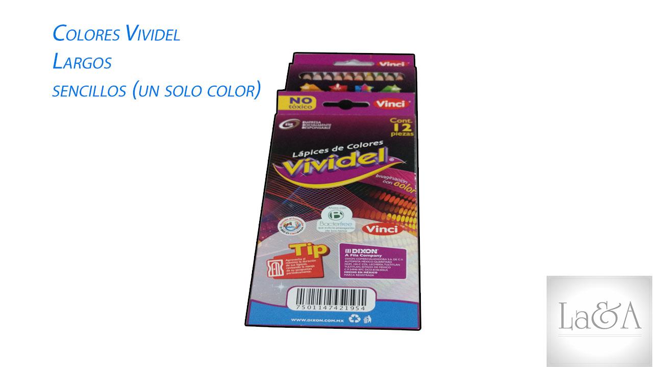 Colores Vividel de un solo color sencillo.