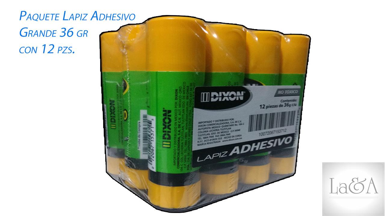 Paquete Lápiz Adhesivo grande