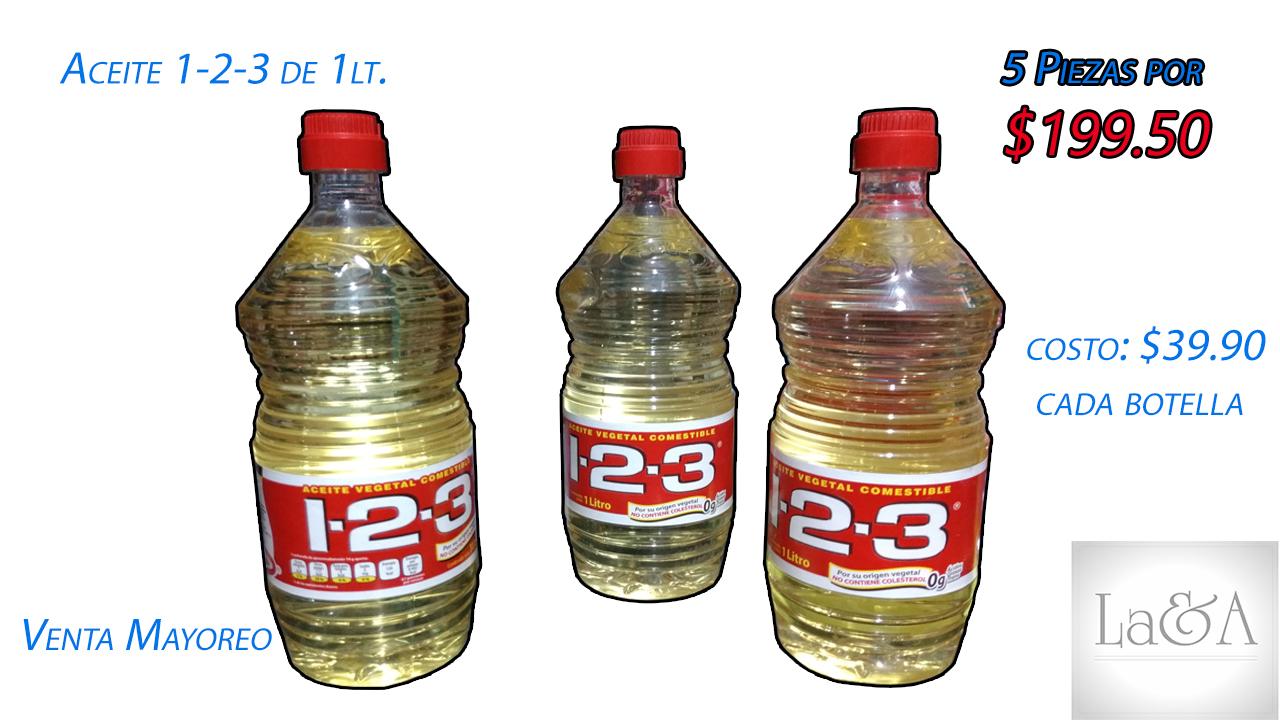 Aceite 1-2-3 1 lt.