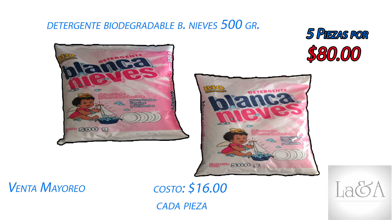 Blanca Nieves 500 gr.