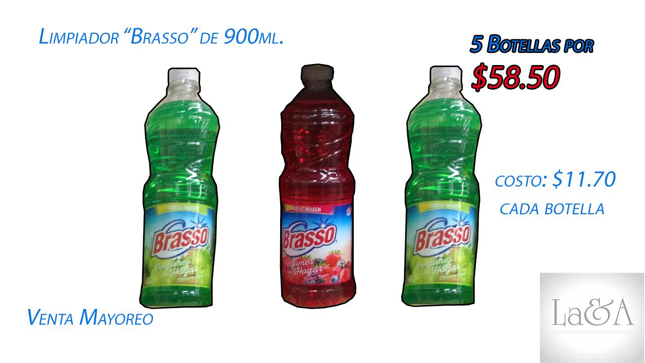 "Limpiador ""Brasso"" 900ml."