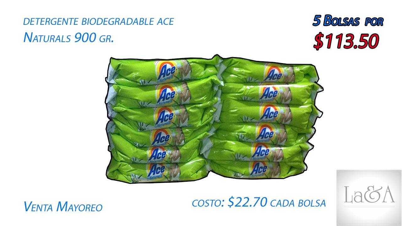 """Detergente Ace """"Naturals"""" 800 gr."""