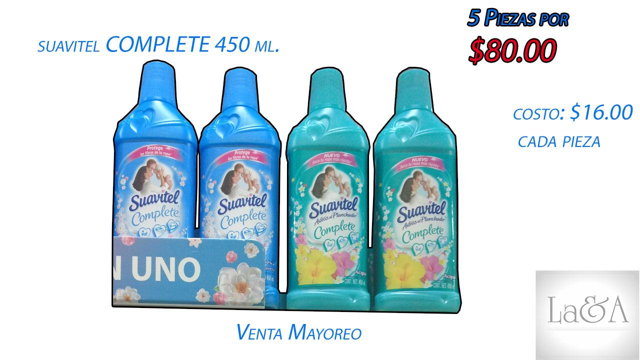 Suavitel Complete  450 ml.