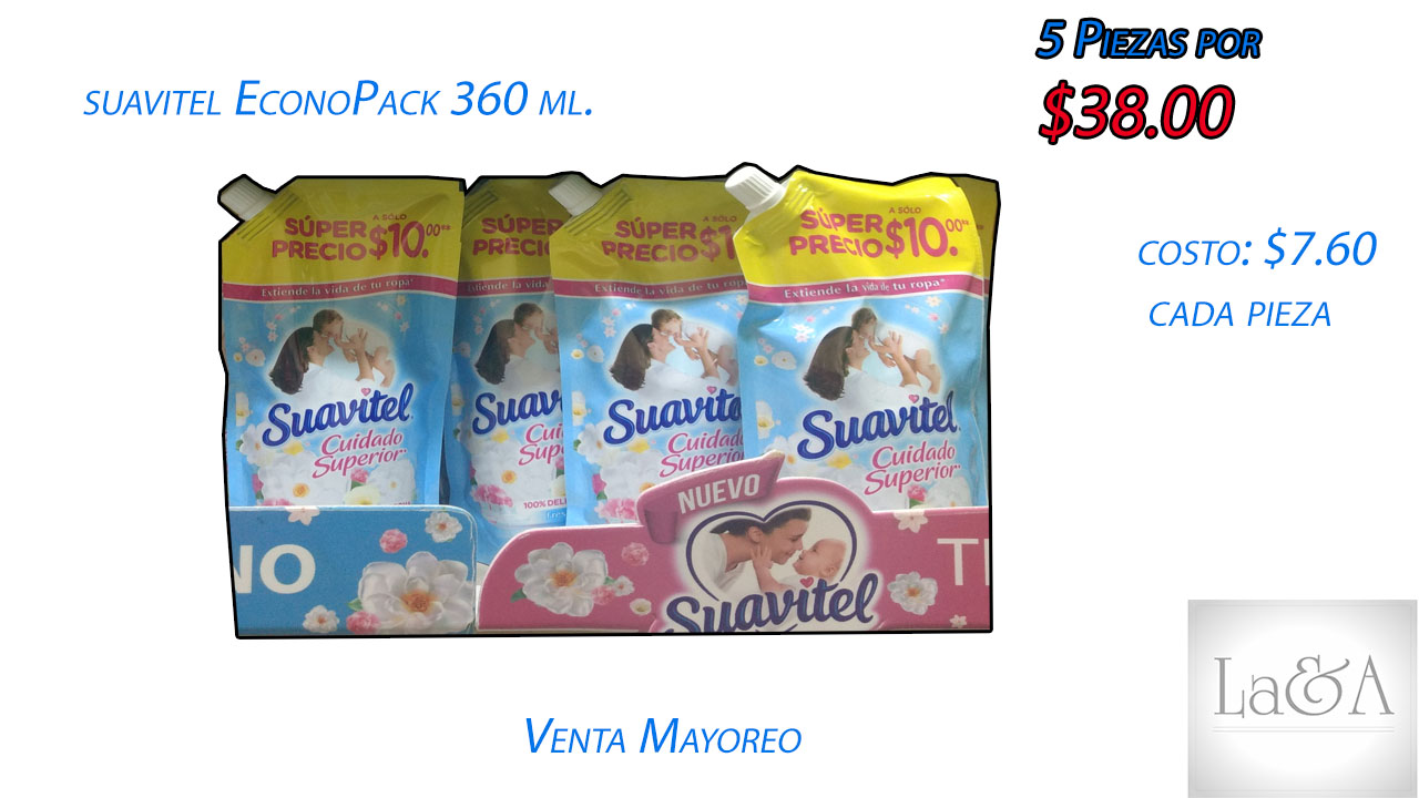 Suavitel EconoPack 360 ml.