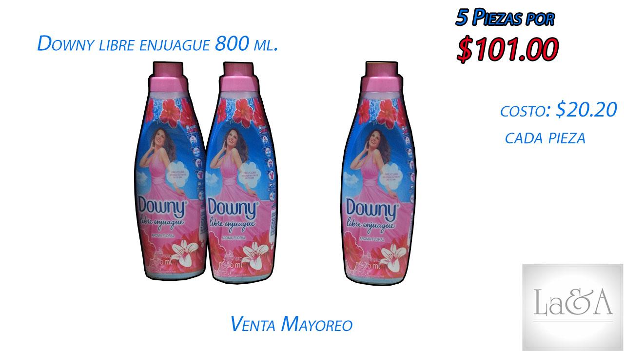 Downy Libre Enjuague 800 ml.