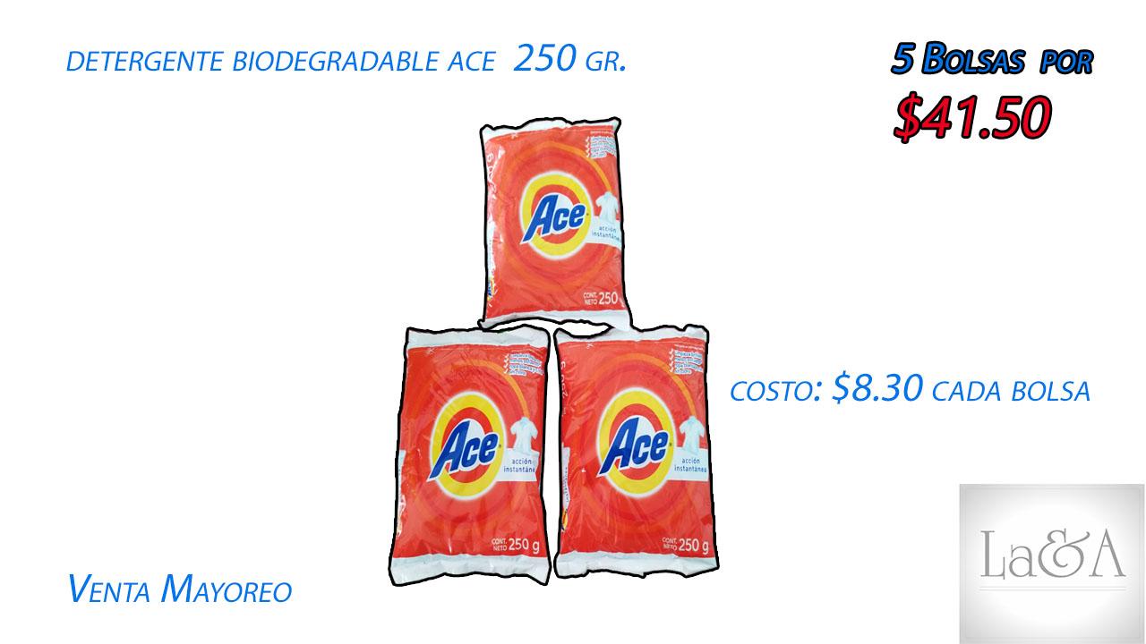 Detergente Ace 250 gr.
