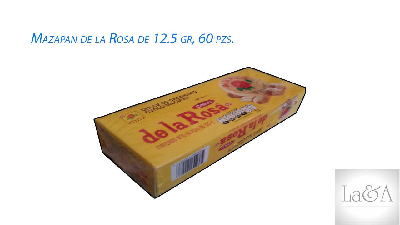 Mazapan 12.5 gr 60 pzs.