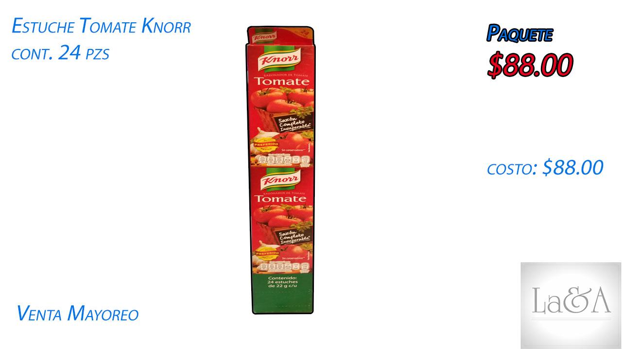 Estuche Tomate Knorr 24 pzs.