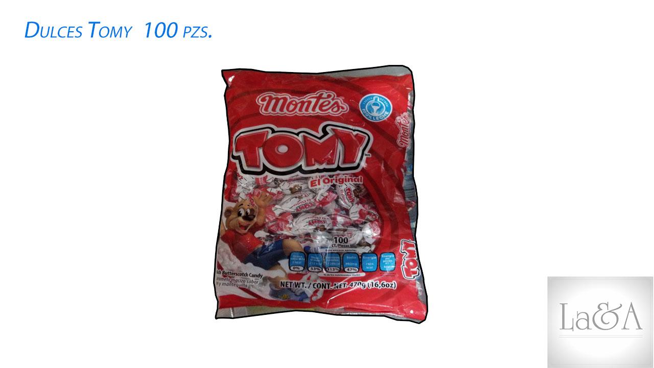 Dulce Tomy 100 pzs.