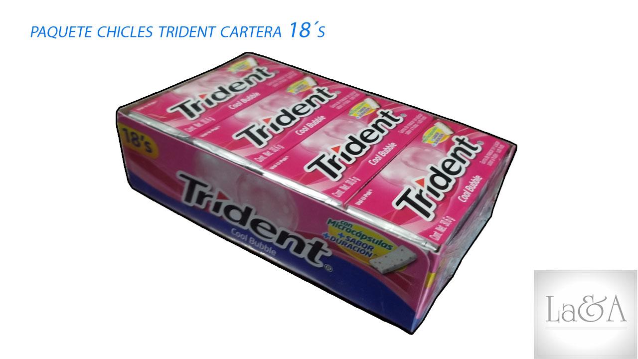 Trident Cartera 18´s.
