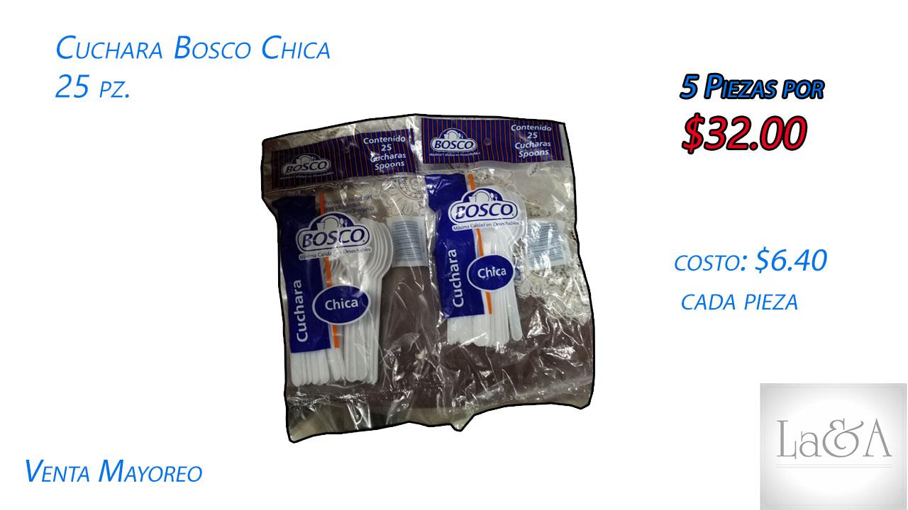 Cuchara Chica Bosco 25 pzs.