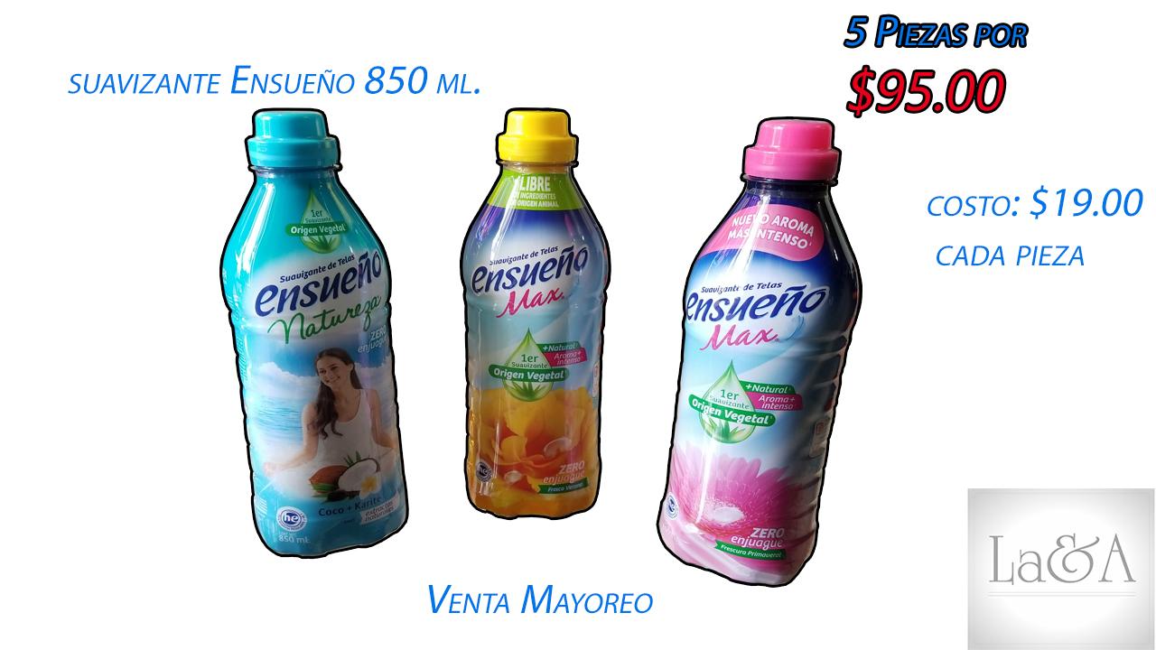 Suavizante Ensueño 850 ml.