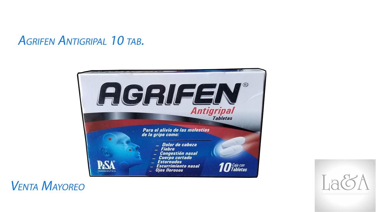 Agrifen Antigripal 10 Tab.