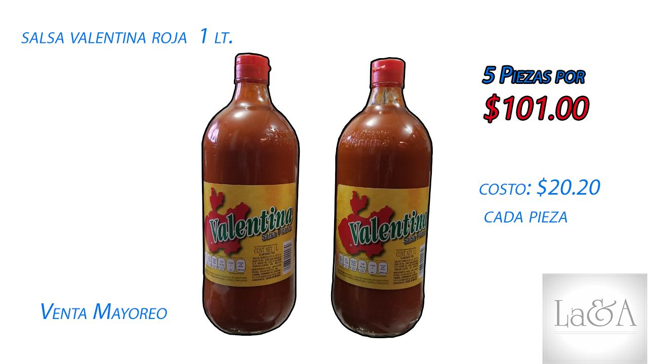 Salsa Valentina Roja  1 lt.