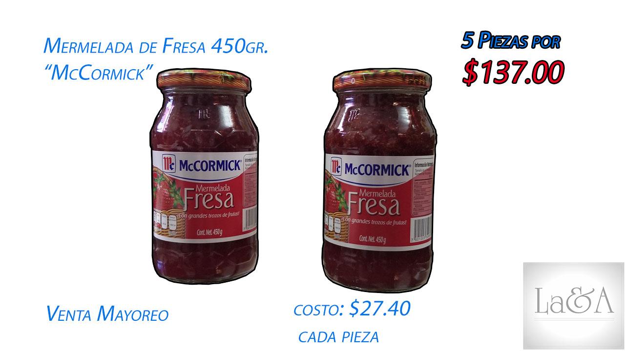 Mermelada de Fresa 450 gr.